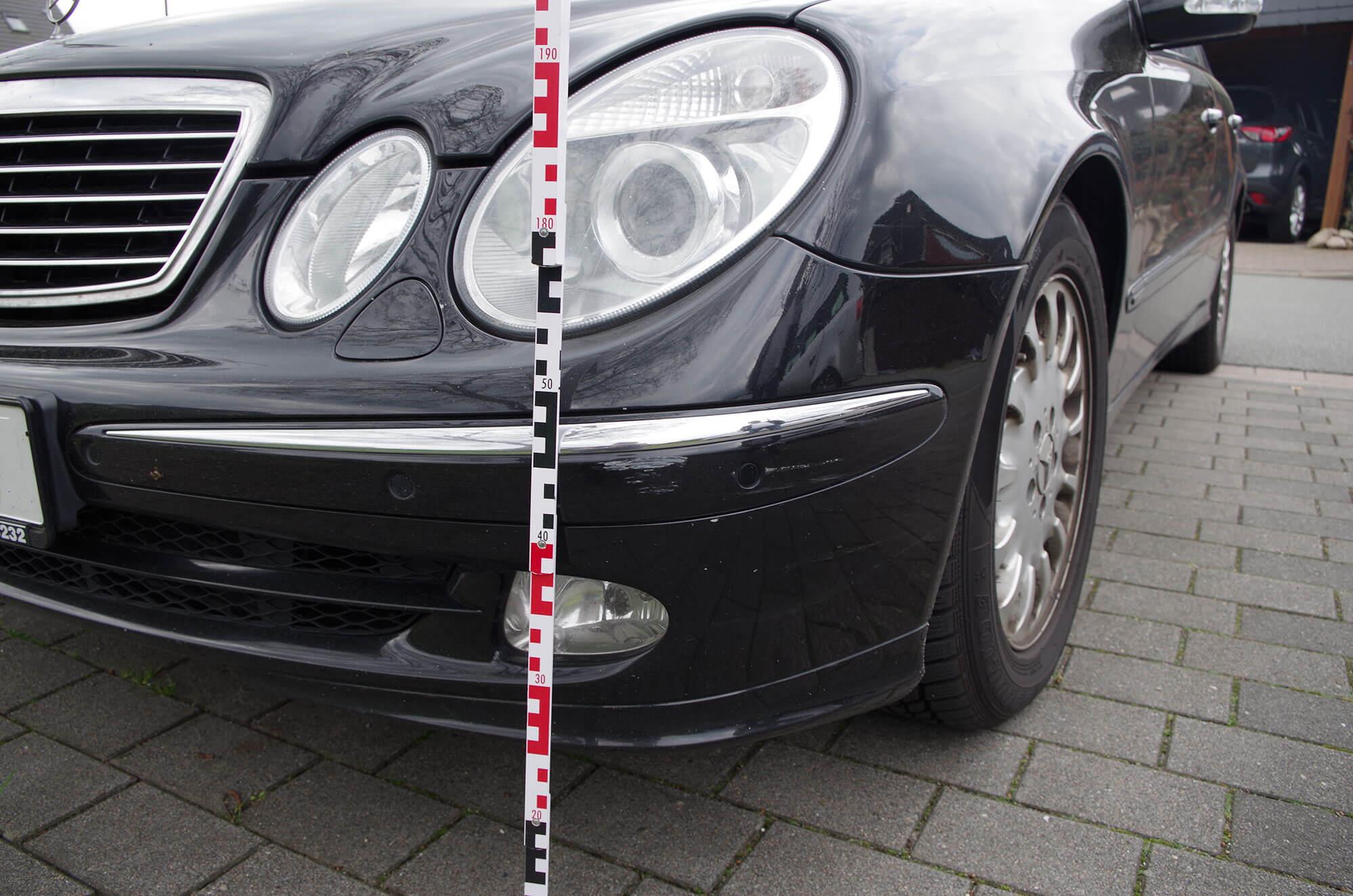 Kfz Gutachten Lackschäden am Mercedes Benz | Gutachten Hamburg